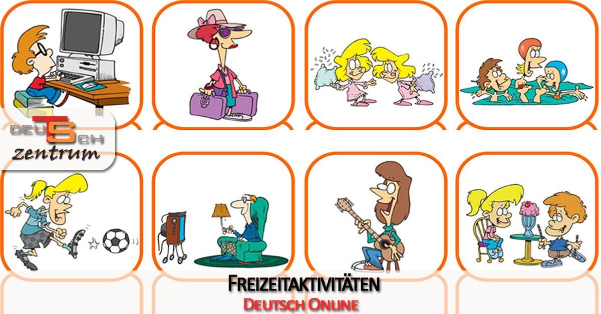 Leisure activities in German - Freizeitaktivitäten