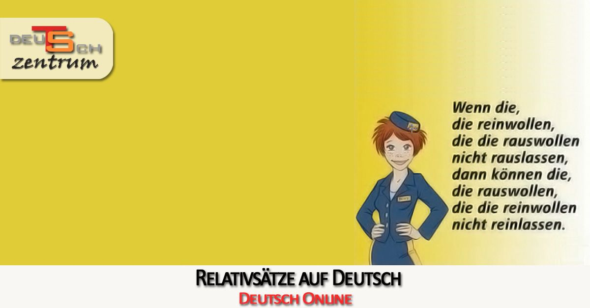 Relativsätze in Deutsch