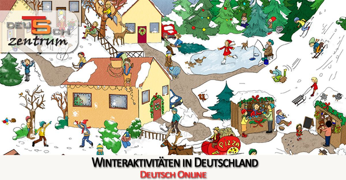 Winter activities in Germany - Winteraktivitäten