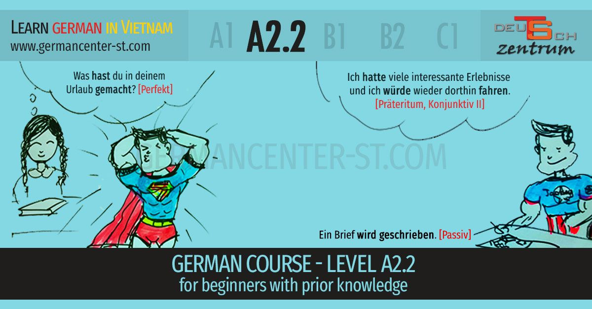German courses A2.2 Vietnam