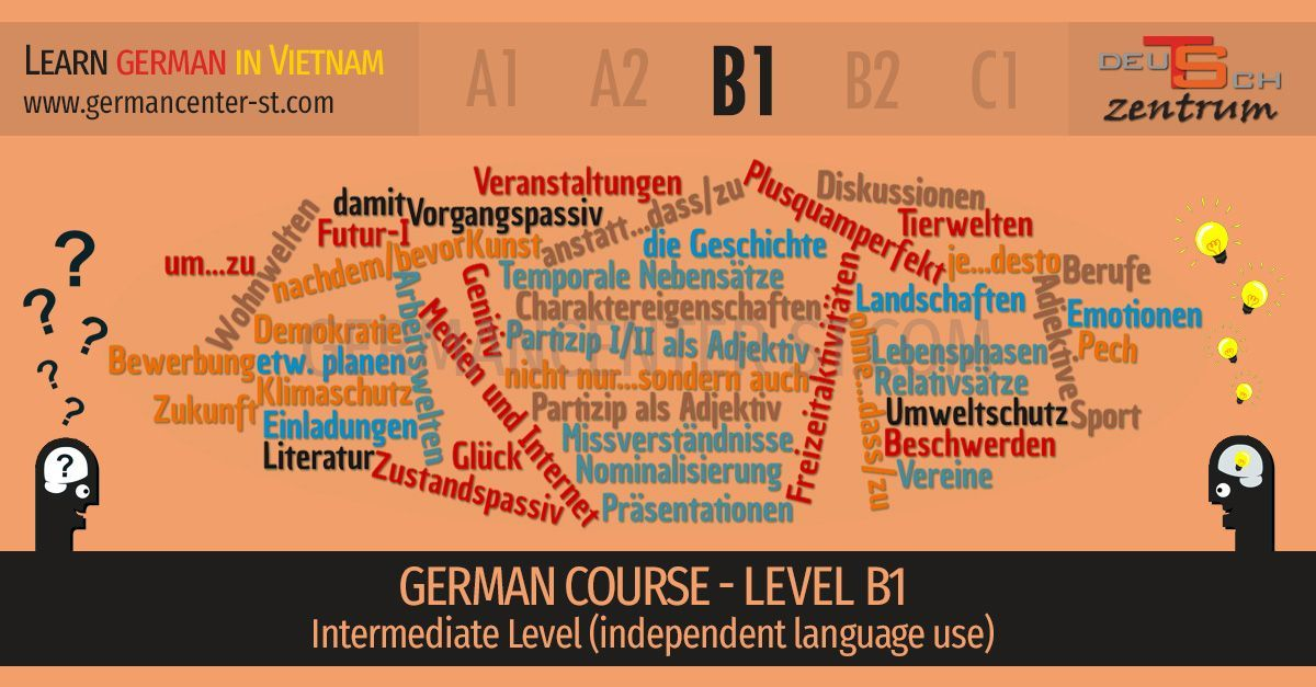 German courses B1 Vietnam