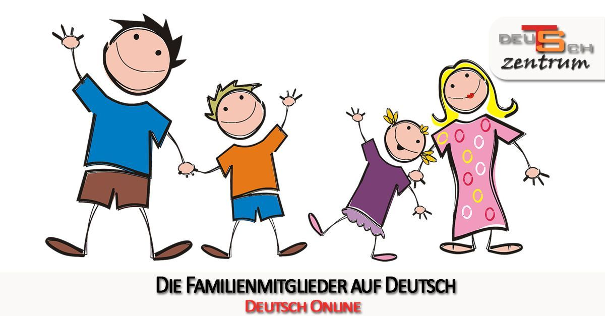 Family members in German - Familienmitglieder