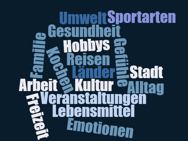 All online vocabulary exercises - Germancenter-ST